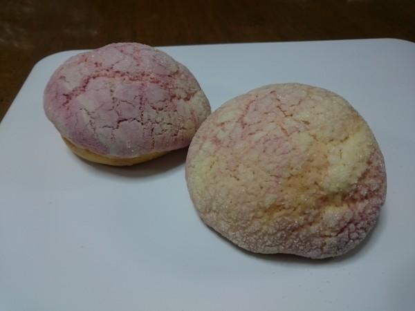 イチゴマーブルメロンパン